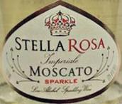 贡德达巴酒庄斯黛拉莫斯卡托起泡酒(Il Conte d'Alba Stella Rosa Imperiale Moscato, Piedmont, Italy)