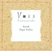 沃斯西拉干红葡萄酒(Voss Syrah,Napa Valley,USA)