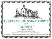 圣戈斯酒庄波斯特干白葡萄酒(Chateau de Saint Cosme Le Poste White,Cotes du Rhone,France)