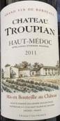 特洛皮安干红葡萄酒(Chateau Troupian, Haut-Medoc, France)