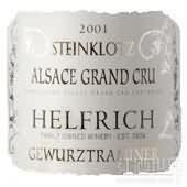 Helfrich Gewurztraminer Steinklotz,Alsace Grand Cru,France