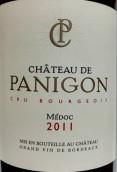 巴骊宫城堡红葡萄酒(Chateau de Panigon,Medoc,France)