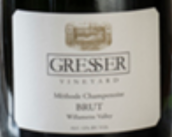 格雷赛尔极干型起泡酒(Gresser Vineyard Sparkling Brut, Willamette Valley, USA)
