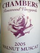 钱伯斯栗红麝香甜白葡萄酒(Chambers Rosewood Vineyards Walnut Muscat, Rutherglen, Australia)