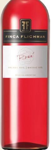 菲卡马尔贝克-西拉桃红葡萄酒(Finca Flichman Malbec-Syrah Rose,Mendoza,Argentina)