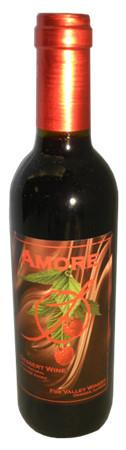 福克斯谷爱慕芳堤娜甜红葡萄酒(Fox Valley Winery Amore Frontenac,Illinois,USA)