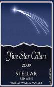 五星酒庄恒星干红葡萄酒(Five Star Cellars Stellar, Walla Walla Valley, USA)