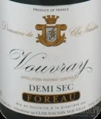 诺丹半甜型白葡萄酒(Clos Naudin Demi-Sec,Vouvray,France)
