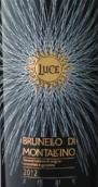 麓鹊酒庄布鲁奈罗红葡萄酒(Luce Brunello di Montalcino DOCG,Tuscany,Italy)