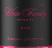 威斯家族桃红葡萄酒(Weese Family Rose,Sonoma County,USA)