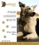 杜汉四条腿白葡萄酒(Dunham Cellars Four Legged White,Columbia Valley,USA)