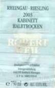 罗伯特威尔雷司令半干型小房酒(Weingut Robert Weil Riesling Kabinett HalbTrocken, Rheingau, Germany)