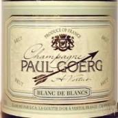 保罗格尔格一级园白中白香槟(Paul Goerg Premier Cru Blanc de Blancs Brut,Champagne,France)
