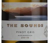 声音酒庄灰皮诺干白葡萄酒(The Sounds Pinot Gris,Marlborough,New Zealand)