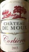 穆堡红葡萄酒(Chateau de Moux, Corbieres, France)