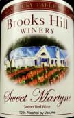 布鲁克斯山马汀尼甜红葡萄酒(Brooks Hill Winery Sweet Martyne, Kentucky, USA)