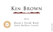 肯布朗罗茜的西拉桃红葡萄酒(Ken Brown Rosie's Syrah Rose,Sta.Rita Hills,USA)