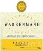 华乐满巴扎尼霞多丽干白葡萄酒(未经橡木桶)(Warrenmang Estate Bazzani Chardonnay,Pyrenees,Australia)