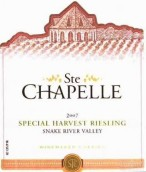 圣教堂酿酒师特别收货雷司令桃红葡萄酒(Ste. Chapelle Winemakers Special Harvest Riesling, Snake River Valley, USA)