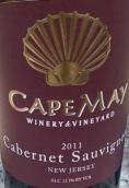 五月角赤霞珠干红葡萄酒(Cape May Cabernet Sauvignon,New Jersey,USA)