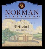 诺曼别卜西红葡萄酒(Norman Beelzebub Red Blend, Paso Robles, USA)