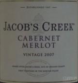 杰卡斯赤霞珠-梅洛干红葡萄酒(Jacob's Creek Cabernet-Merlot,South Eastern Australia,...)