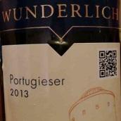 翁德里希葡萄牙人干红葡萄酒(Wunderlich Portugieser,Villanyi,Hungary)