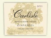 卡尔丽丝卡利斯园仙粉黛干红葡萄酒(Carlisle 'Carlisle Vineyard' Zinfandel,Russian River Valley,...)