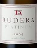 鲁德拉铂金白诗南干白葡萄酒(Rudera Platinum Chenin Blanc,Stellenbosch,South Africa)