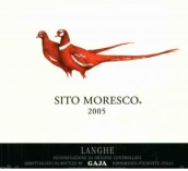 嘉雅摩尔仕堡干红葡萄酒(Gaja Sito Moresco, Langhe, Italy)