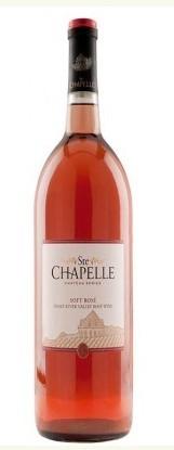 圣教堂城堡系列温和桃红葡萄酒(Ste.Chapelle Chateau Series Soft Rose,Snake River Valley,USA)