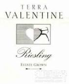 瓦伦丁雷司令干白葡萄酒(Terra Valentine Estate Riesling,Spring Mountain,USA)