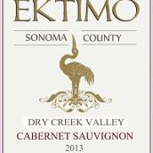 感恩酒庄干溪谷赤霞珠干红葡萄酒(Ektimo Vineyards Cabernet Sauvignon, Dry Creek Valley, USA)