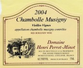 Domaine Perrot-Minot Chambolle-Musigny Vieilles Vignes,Cote ...