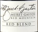 穆雷加斯顿混酿干红葡萄酒(Muret-Gaston Red Blend,Red Mountain,USA)