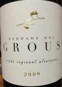 格罗斯酒庄干红葡萄酒(Herdade dos Grous,Alentejano,Portugal)