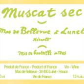 美景园麝香干白葡萄酒(Domaine le Clos de Bellevue Muscat Sec,Lunel,France)