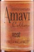 阿玛维品丽珠桃红葡萄酒(Amavi Cabernet Franc Rose,Washington,USA)