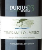 康科迪亚侯爵丹魄-梅洛混酿天然珍藏干红葡萄酒(Marques de la Concordia Durius Natural Reserve Tempranillo-...)