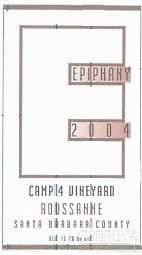主显节四园瑚珊干白葡萄酒(Epiphany Cellars Camp Vineyard Roussanne,Santa Barbara ...)