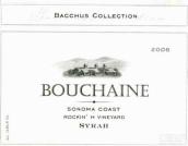 波尔金酒神巴克斯精选系列摇滚H西拉干红葡萄酒(Bouchaine Vineyards Bacchus Collection Rockin' H Vineyard ...)