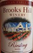 布鲁克斯山雷司令半干白葡萄酒(Brooks Hill Winery Riesling,Kentucky,USA)