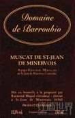 Domaine de Barroubio Muscat de Saint-Jean-de-Minervois,...