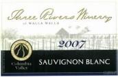 三河酒庄长相思干白葡萄酒(Three Rivers Winery Sauvignon Blanc,Columbia Valley,USA)