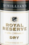麦克威廉皇家珍藏阿佩罗干型加强酒(McWilliam's Royal Reserve Dry Apera,South Eastern Australia,...)