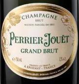 巴黎之花特级干型香槟(Champagne Perrier-Jouet Grand Brut, Champagne, France)