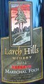 落叶松山酒庄珍藏马雷夏尔福煦干红葡萄酒(Larch Hills Marechal Foch Special Reserve, Okanagan Valley, Canada)