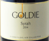 高第西拉红葡萄酒(Goldie Syrah,Waiheke Island,New Zealand)