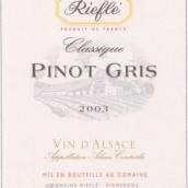 Domaine Riefle Pinot Gris,Alsace,France