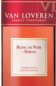 凡拉润白中黑西拉桃红葡萄酒(Van Loveren Blanc De Noir Shiraz,Robertson,South Africa)